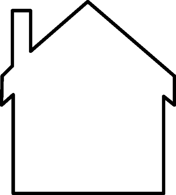 Line Drawing Of Your House : Casas para colorear dibujos online
