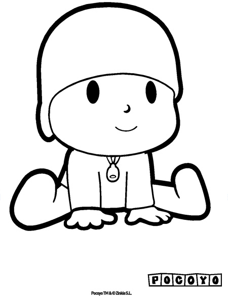 Index Of Images Dibujos Para Colorear De Pocoyo